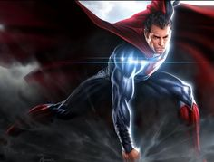 Awesome MAN OF STEEL Concept & Style Guide Art For Superman, General Zod & Faora