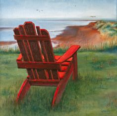 This image was inspired by one of my most favourite things to do; sit in a comfortable chair by the ocean and read a great book. Outdoor Chairs, Outdoor Furniture, Outdoor Decor, Most Favorite, Great Books, Things To Do, Bench, Ocean, Inspired