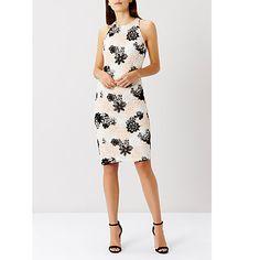 Buy Coast Alexa Lace Shift Dress, Mono Online at johnlewis.com