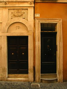 doors, Rome | Flickr: Intercambio de fotos
