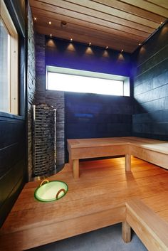 Inredning - Inspiration från Trivselhus Saunas, Fire Pits, Tub, Conference Room, Inspiration, Furniture, Home Decor, Veggie Gardens, Gardens