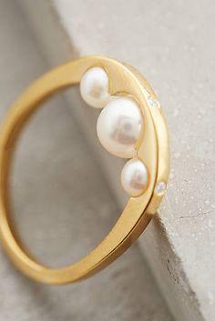 Bague anse aux perles