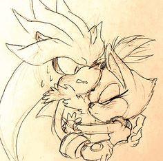Otro FAN ART Silver and blaze debo decirlo  que chevere dibujo  al quien sea que lo hizo ;)