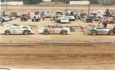 Vintage dirt racing at Wythe Raceway VA