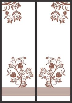 Frosted Glass Interior Doors, Sand Glass, Laser Cutting, Cnc, Graphic Art, Stencils, Floral Design, Profile, Home Decor