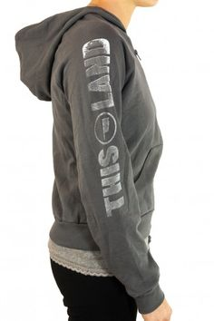 With it's slimmer fit and short tails, this excellent hoody from This Land is cut just for ladies. $48