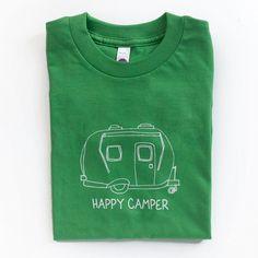 Happy Camper Short Sleeve Tee