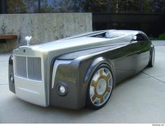 #million dollar Cadillac concept car