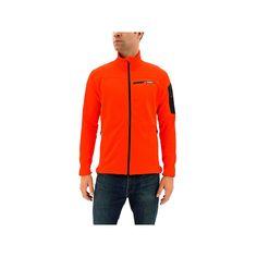 Men's Adidas Terrex Stockhorn Performance Fleece Jacket, Size: Medium, Red