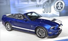 FORD SHELBY GT500 CONVERTIBLE. 5.8 LITER SUPERCHARGED V-8 WITH 650 HORSEPOWER AND 600 LB-FT. OF TORQUE! THIS IS WHAT I WANT!