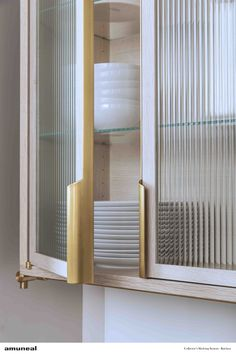 Cabinet hardware | almost invisible but tastefully present!