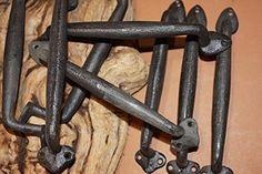 Door Pulls, Door Handles, Cast Iron, It Cast, Rustic Hardware, Casket, Coffin, Firewood, Amazon