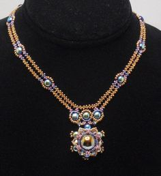 Instructions for Valor Necklace  Beading Tutorial by njdesigns1