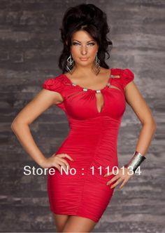 2604bf72a91ea8 plus size m xxl sexy ketting schede club jurk vrouwen casual sexy bodycon  bandage jurken nieuwigheid