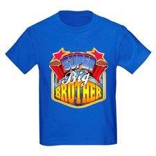 Super Big Brother Kids Dark T-Shirt for