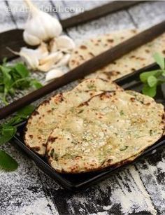 Fenugreek and soyaflour helps to lower blood glucose levels and thus excellent recipe for diabetics. Being cooked in very minimal fat this indian bread suits a low-cal menu as well.
