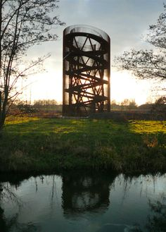 A collection of spectacularly beautiful watchtowers in the the Netherlands from the flickr site of Klaas Vermaas. via notcot