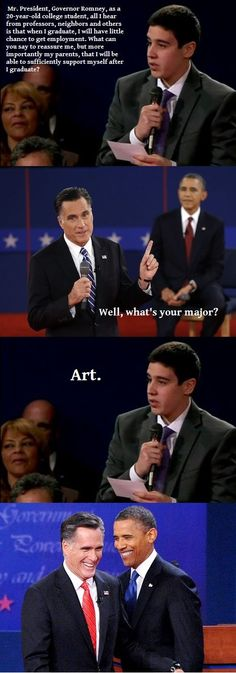 I think this applies to any liberal arts major, really. But this is funny, nonetheless.