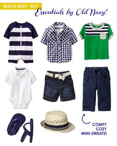 Summer Style for Beach Babies from Old Navy / via Momtastic