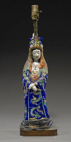 Antique Japanese Imari Porcelain Kannon : Lot 145