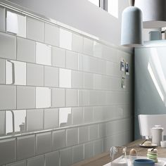 Discount Glass Tile Store - Imola Cento - Aquamarine Gloss Finish Wall Tile - $6.29 sq.ft  (Sold By Carton 5.22 sq.ft per carton), $32.83 (http://www.discountglasstilestore.com/imola-cento-aquamarine-gloss-finish-wall-tile-6-29-sq-ft-sold-by-carton-5-22-sq-ft-per-carton/)