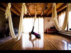 Cabin Fever - yoga dance - aerial silk hammock - YouTube