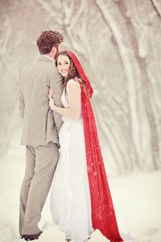 Winter In July, A Snowy One Year Anniversary Shoot in Provo, Utah by AlliChelle Photography