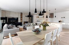 Lamps - design - Brokis - Shadows by Lucie Koldova & Dan Yeffet Living Room Decor, Dining Room, Dining Table, Lamp Design, Decoration, Sweet Home, Ceiling Lights, Interior Design, House
