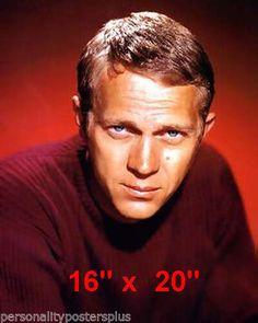 Steve McQueen~King of Cool~Color Portrait~ x Vintage Hollywood, Classic Hollywood, Steve Mcqueen Style, Glamour Shots, Hollywood Stars, King, Portrait, Money, Color