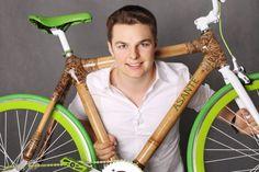 """Igor Pielas stworzył firmę, która produkuje rowery z bambusa i jednocześnie pomaga mieszkańcom Afryki – starszym daje prace, młodszym funduje szkolne stypendia.  To młody polski start-up, który próbuje połączyć biznes z pomaganiem.Młodzi Afrykanie ręcznie składają ramy do rowerów z rosnących w okolicy bambusów. Tworzą """"serca"""" rowerów Asante Bamboo Bikes. Młody Polak nawiązał kontakt z …"""