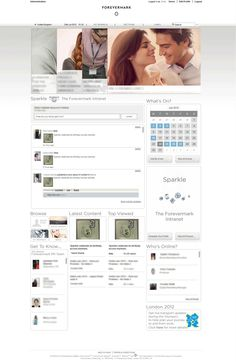 Sparkle (De Beers) Homepage from SmallWorlders