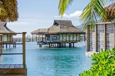 Overwater Bungalows, French Polynesia - Shutterstock