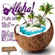 We are hosting a Luau. The best Luau in the Capital Region. Tickets are on sale http://arcluauinthepark.eventbrite.com/