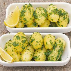 Zitronenbutter-Kartoffeln
