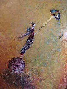 L'art et l'univers de Catherine Rebeyre, Artiste peintre & Illustratrice Illustrations, Cute Illustration, Surrealism, Fantasy Art, Fairy Tales, Street Art, Sculpture, Drawings, Artwork