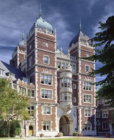 "University of Pennsylvania Quadrangle Dormitories - Commonly referred to as ""The Quad,"" the landmark residence hall encompasses two city blocks in the heart of the Philadelphia campus."