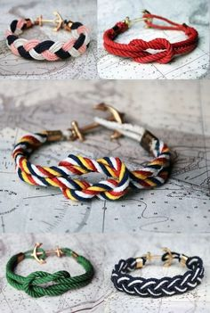 this would be so easy to make! if only i could find some colored cord/twine. blast!