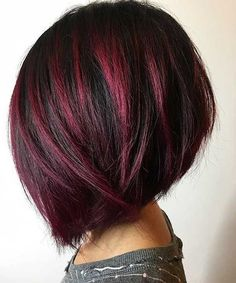 50 Medium Bob Hairstyles for Women Over 40 in 2019 Bob hairstyles are always cute but there are too many choices. If you want to change your look or if you want to change your vest completely there is . Bob Hairstyles For Fine Hair, Layered Bob Hairstyles, Cool Hairstyles, Wedding Hairstyles, Medium Hair Styles, Curly Hair Styles, Asymmetrical Bob Haircuts, Bobs For Thin Hair, Ombre Hair Color