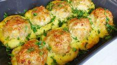 Nusret Hotels – Just another WordPress site Food Videos, Baked Potato, Broccoli, Potato Salad, Zucchini, Dinner Recipes, Goodies, Potatoes, Baking