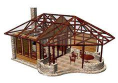 Pergola Front Of House Info: 2471810993 Outdoor Patio Bar, Backyard Gazebo, Backyard Patio Designs, Deck With Pergola, Pergola Patio, Diy Patio, Pergola Kits, Outdoor Rooms, Patio Kitchen