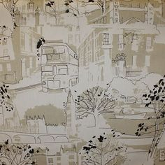 Brompton, Curtain Fabric, Curtains, Designer, Floor Plans, Bedroom, Ebay, Bedrooms, Master Bedrooms