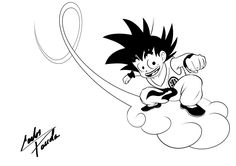 kid Goku Kintoun by AvatarBR.deviantart.com on @deviantART