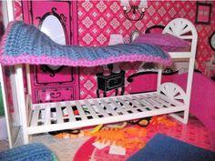Cama de muñecas #Barbie, diseñada en 3D - ThingsCreators.com