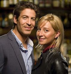 Offspring - great show on Australia Network. Don Hany as Dr. Chris and Asher Keddie as Dr Nina.
