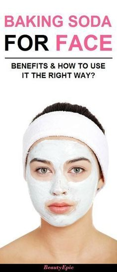 How to use baking soda for face
