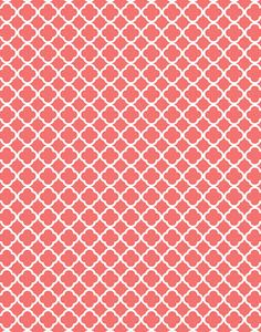 Chevrons, Quatrefoil, Moroccan, Damask and Polka dots backgrounds and a few other printables