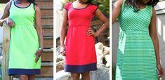 sommer kleid tutorial gratis Zaaberry: Jersey Summer Dress TUTORIAL