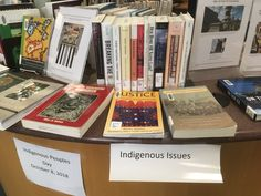 Stop by Rasmuson Library to see our display for Indigenous People's Day, Oct. Indigenous Peoples Day, First Nations, Display, Books, Floor Space, Libros, Billboard, Book, Book Illustrations