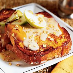 Apple Crisp French Toast