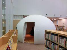 Kawasaki City Library, Japan
